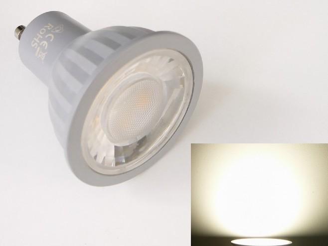 LED žárovka GU10 EV7W - denní bílá 4500K