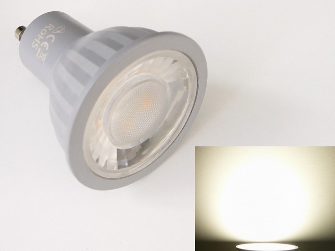 LED žárovka GU10 P7WDIM stmívatelná - denní bílá 4500K