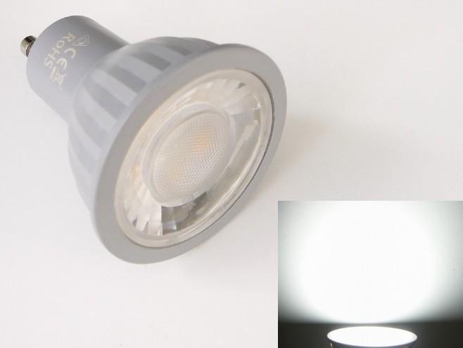 LED žárovka GU10 EV7W - studená bílá 6500K