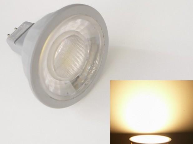 LED žárovka MR16 EV7W - teplá bílá