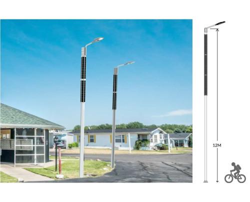 Solární veřejné osvětlení THOR 100W - A