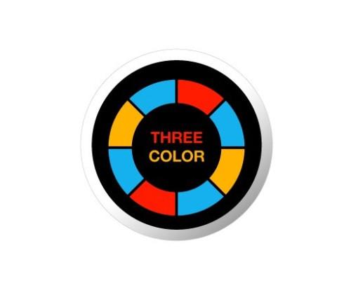Grafika pro projektor - tříbarevná