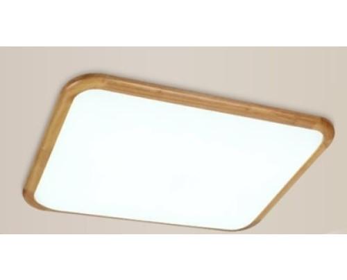 Dřevěné hranaté stropní svítidlo č.3 - 580 x 580  mm