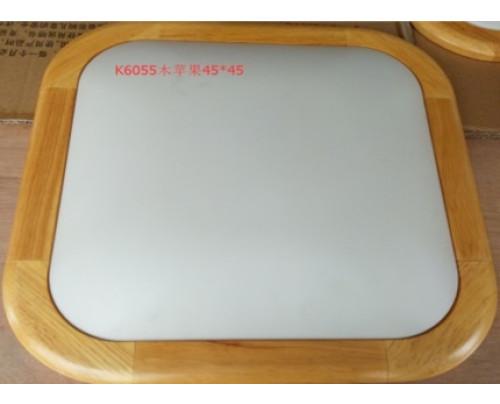Dřevěné hranaté stropní svítidlo 450*450*110