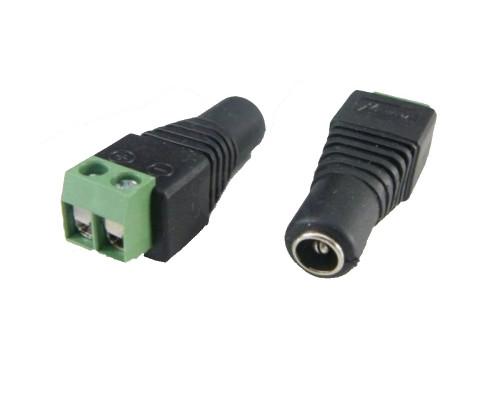 DC konektor se svorkovnicí (samice)