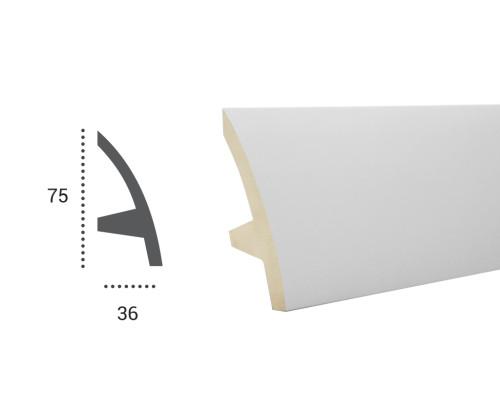 Ohebná lišta LF 502 - 75x36mm
