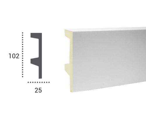 Ohebná lišta LF 504 - 102x25mm