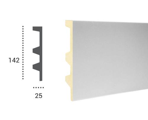 Ohebná lišta LF 505 - 142x25mm