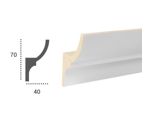 Ohebná lišta LF 701 - 70x40mm