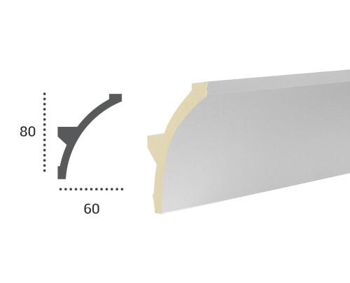 Ohebná lišta LF 702 - 80x60mm