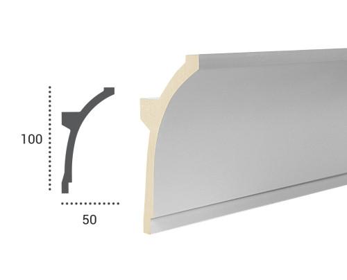 Ohebná lišta LF 704 - 100x50mm