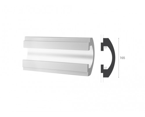 Lišta LD 112 - 165x60mm