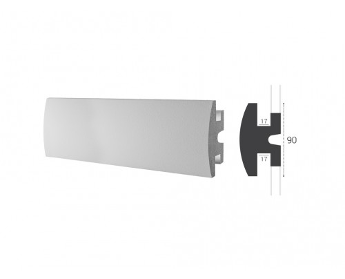 Lišta LD 305 - 90x50mm