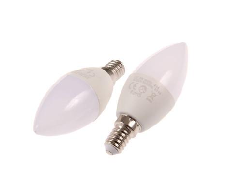LED žárovka E14 SVC37 5W svíčka