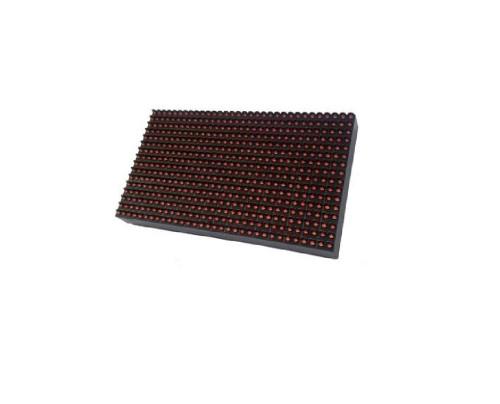 RGB LED panel P10 32x16 venkovní voděodolný jednobarevná červená