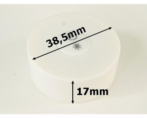 Mini LED ovladač RF DIM1 Bílý kulatý mini