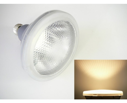 LED žárovka E27 PAR38-S15-30 Teplá bílá