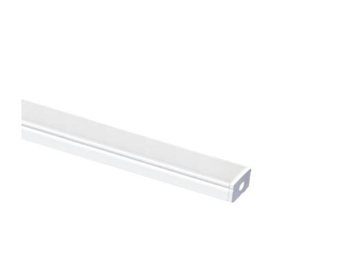 LED profil mikro 2-profil 2m-černá