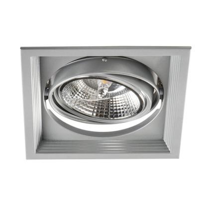 Podhledové svítidlo AR111 ARTO 1L-SR stříbrné