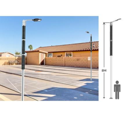 Solární veřejné osvětlení THOR 70W - B