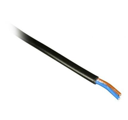 Kabel 2x0,75 kulatý CYLY černá