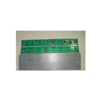 RGB LED panel P4 64x32 vnitřní jednobarevný