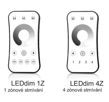 Ovládání stmívání oboustranného profilu 1 a 2 m