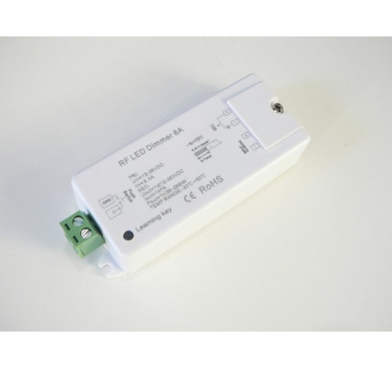 LED RF přijímač DIM1-PR 1x8A