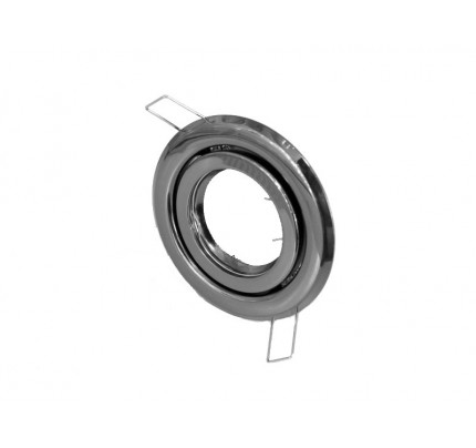 Podhledový rámeček R55-GM černý chrom