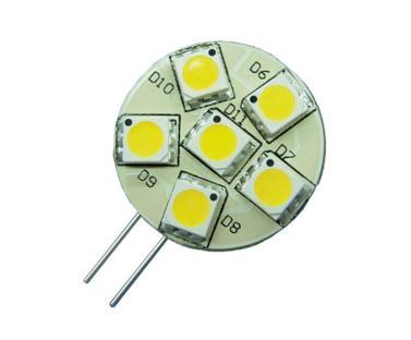 LED žárovka G4 SMD 2W Studená bílá