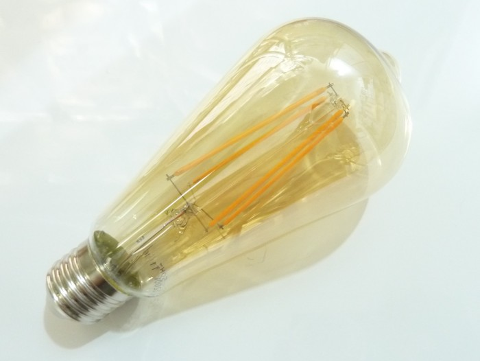 LED žárovka E27 EDF4W FILAMENT oválná