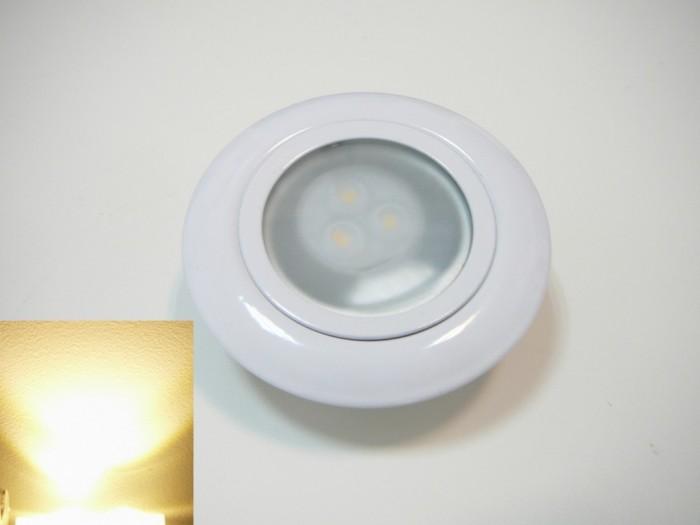 G4 LED nábytkové svítidlo vestavné bílé Teplá bílá