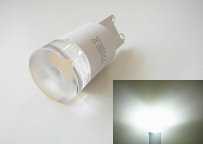 LED žárovka G9-SE2W/360 Studená bílá