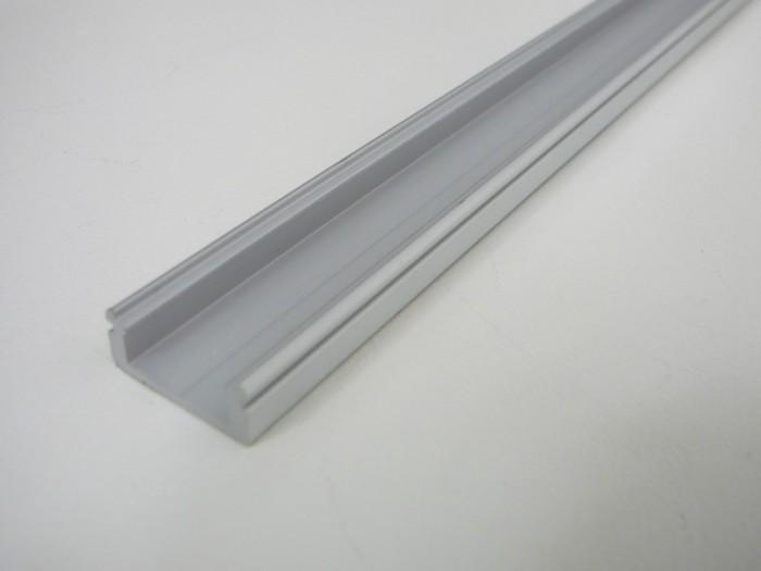 LED profil N8 - nástěnný stříbrný 1m
