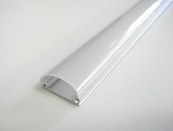 LED profil TUBE nástěnný 1m Opálový difuzor