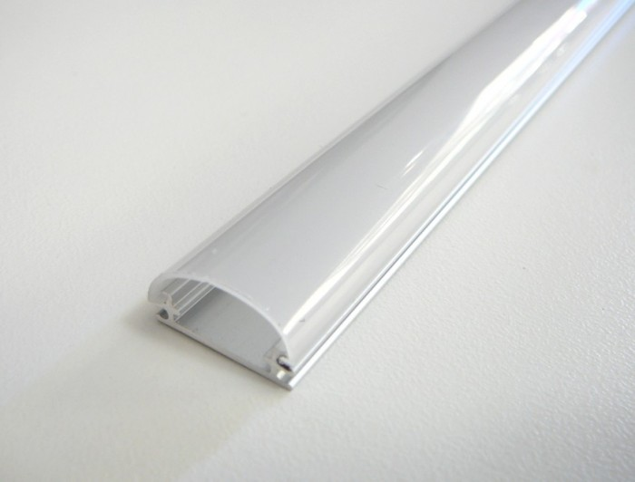 LED profil TUBE nástěnný 2m Opálový difuzor
