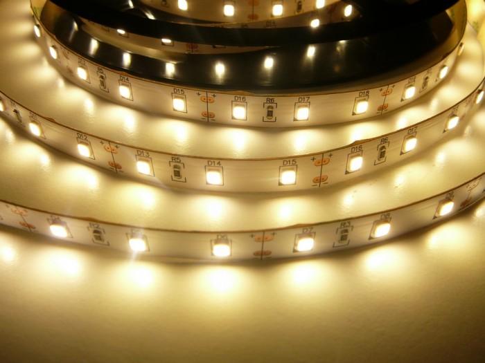 LED pásek 24V-300-12W vnitřní Teplá bílá