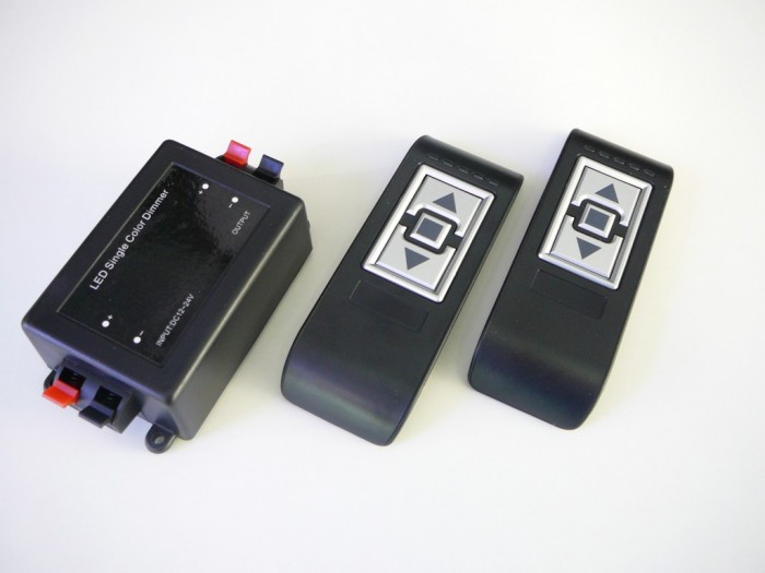 LED ovladač stmívač RF10 2 ovladače