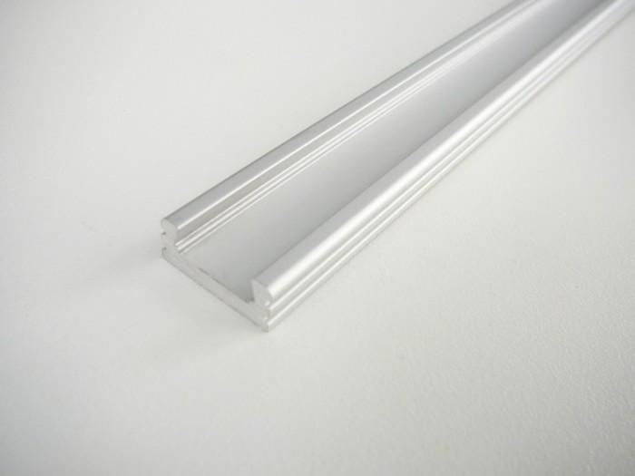 LED profil N2 klik - nástěnný 1m