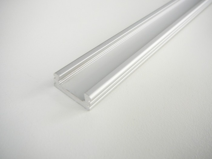 LED profil N2 klik - nástěnný 2m