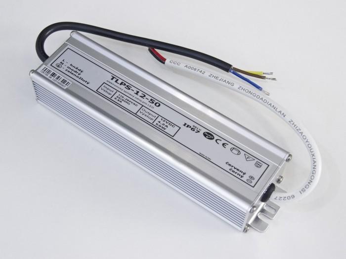 LED zdroj 12V 50W voděodolný