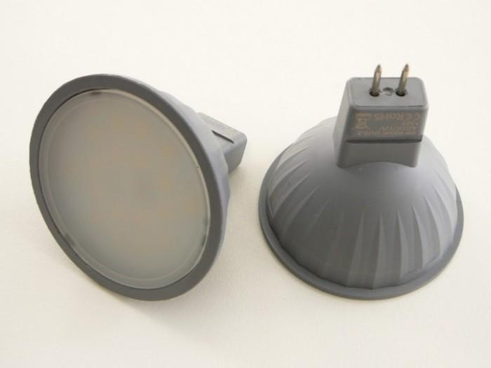 LED žárovka MR16 EL 3W Teplá bílá