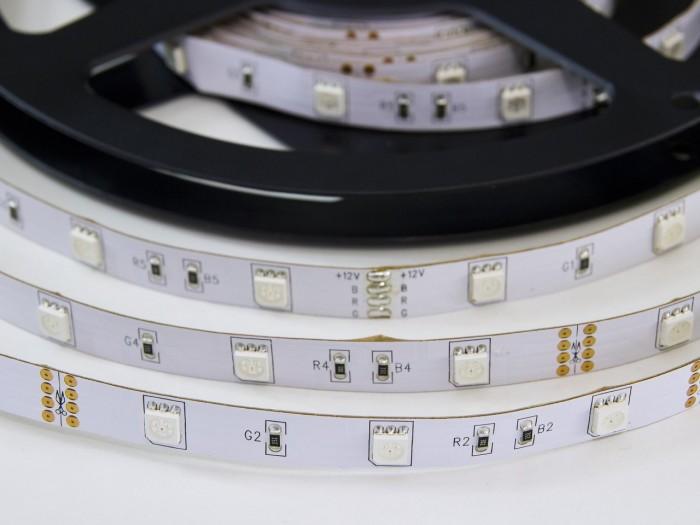 RGB LED pásek W150SMD zalitý