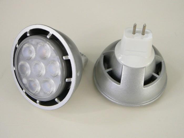 LED žárovka MR16 S7W SANAN Denní bílá