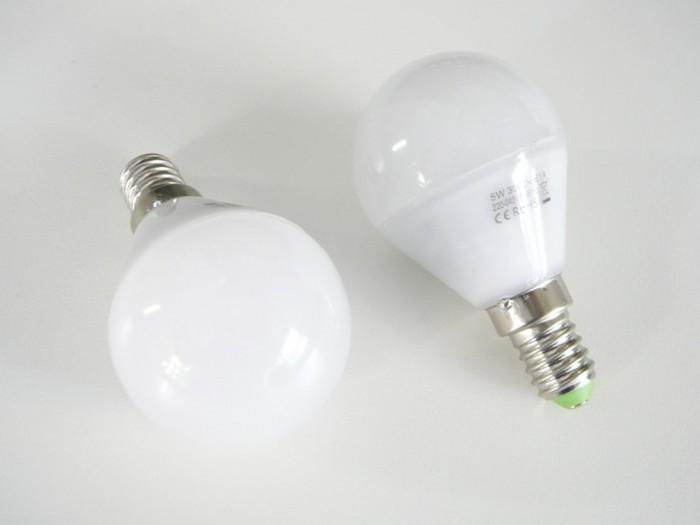 LED žárovka E14 LU5W 260° Teplá bílá