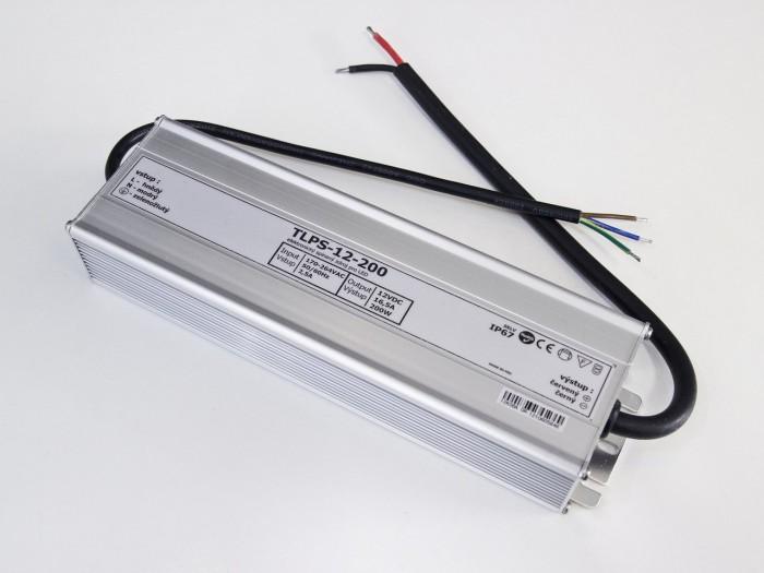 LED zdroj 12V 200W IP67