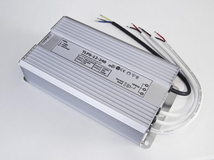 LED zdroj 12V 240W voděodolný