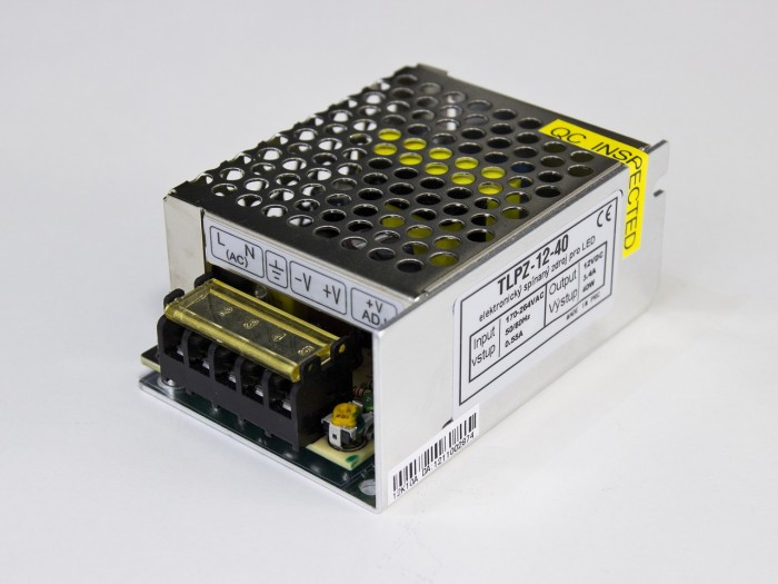 LED zdroj 12V 60W vnitřní
