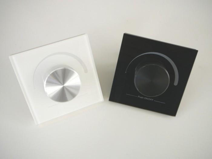 LED ovladač stmívač DIM1-NA nástěnný Bílá