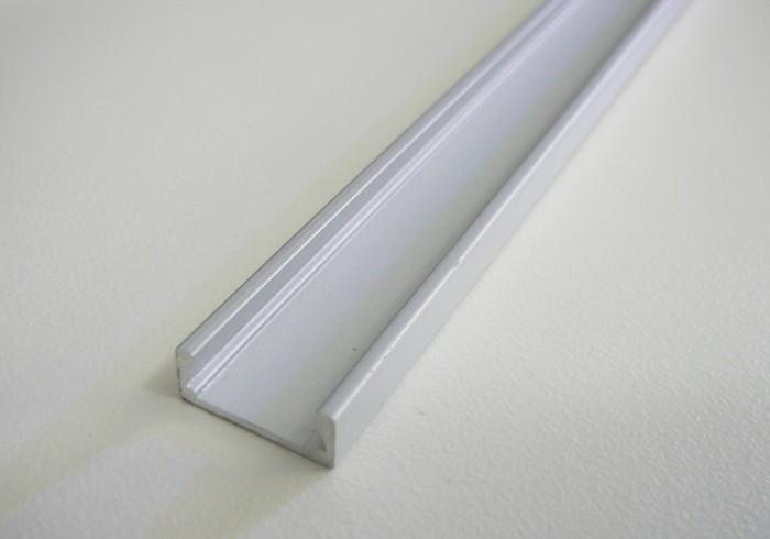LED profil Mikro-2 - Profil bez difuzoru (krytu) 1m